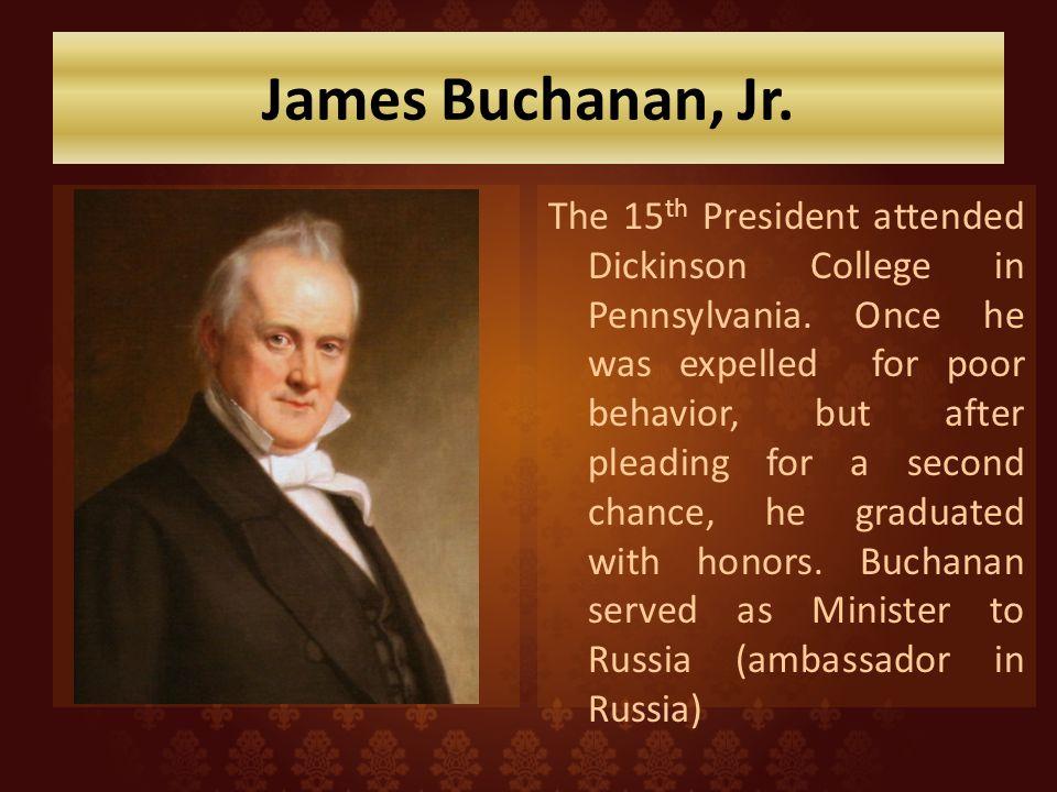James Buchanan, Jr.