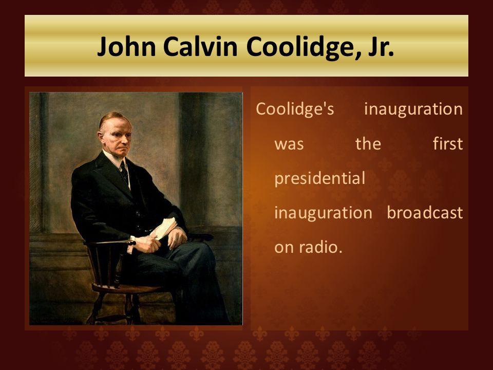 John Calvin Coolidge, Jr.