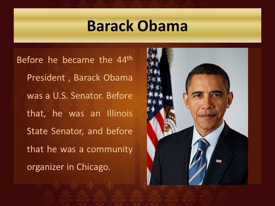 Interesting Facts About Barack Obama For Kids