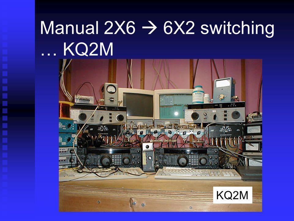 Manual 2X6  6X2 switching … KQ2M