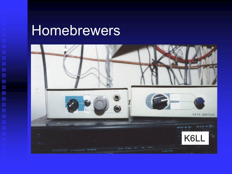 Homebrewers K6LL Full auto, almost completely homebrew
