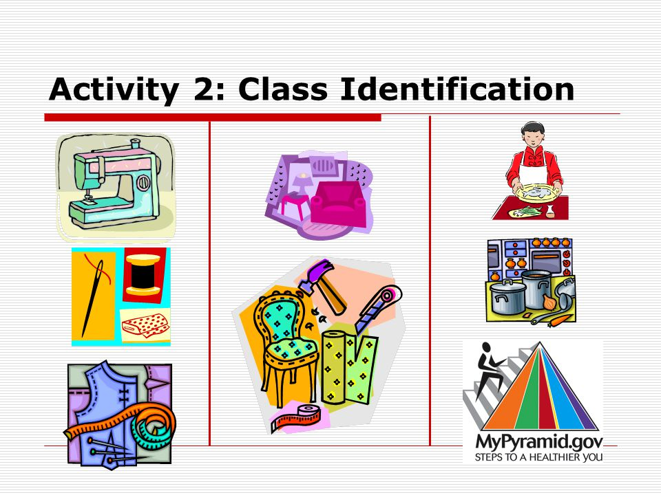 Activity 2: Class Identification