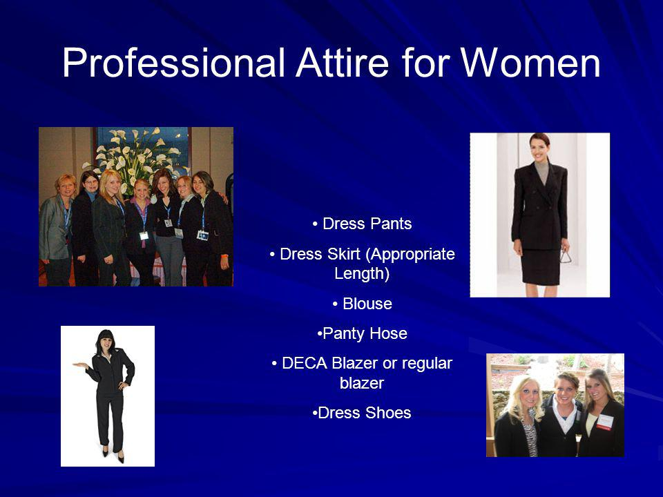 Professional Attire for Women