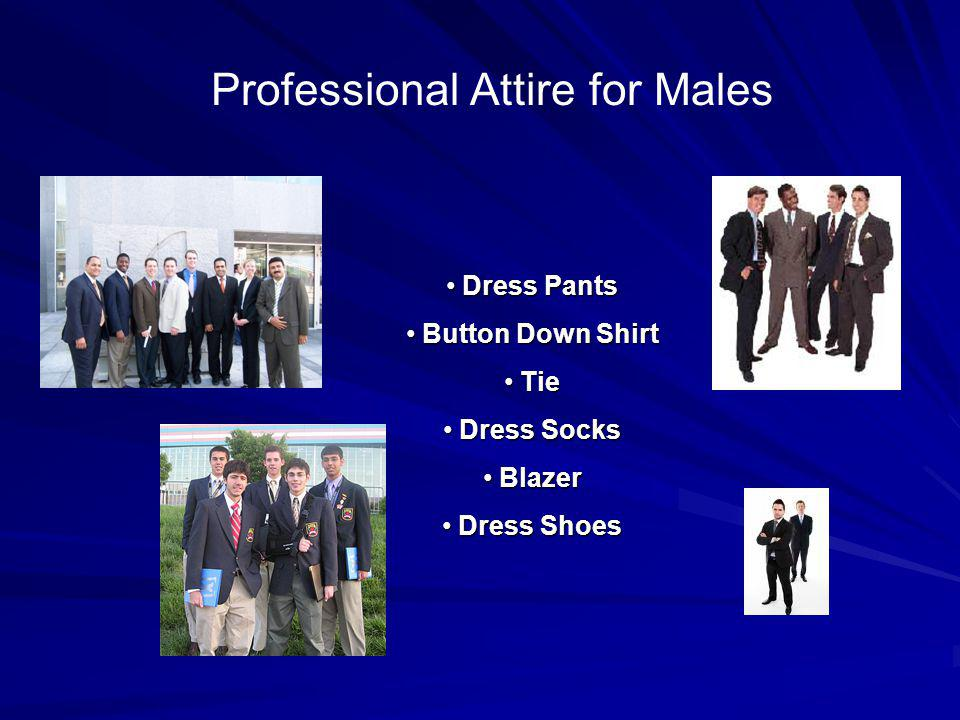 Professional Attire for Males