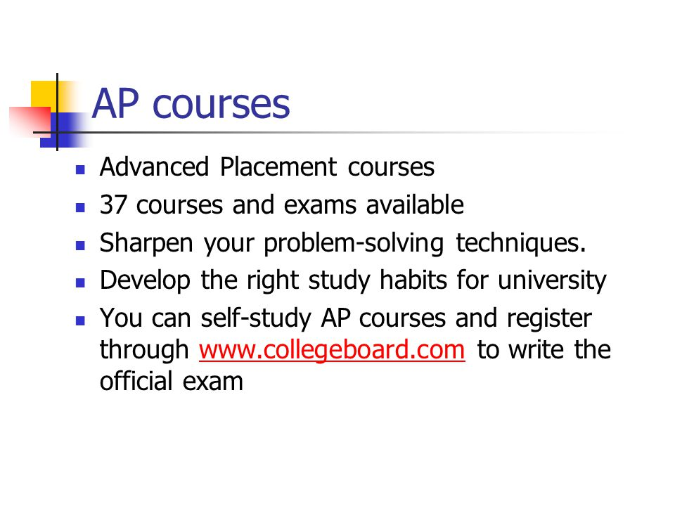 AP courses Advanced Placement courses 37 courses and exams available
