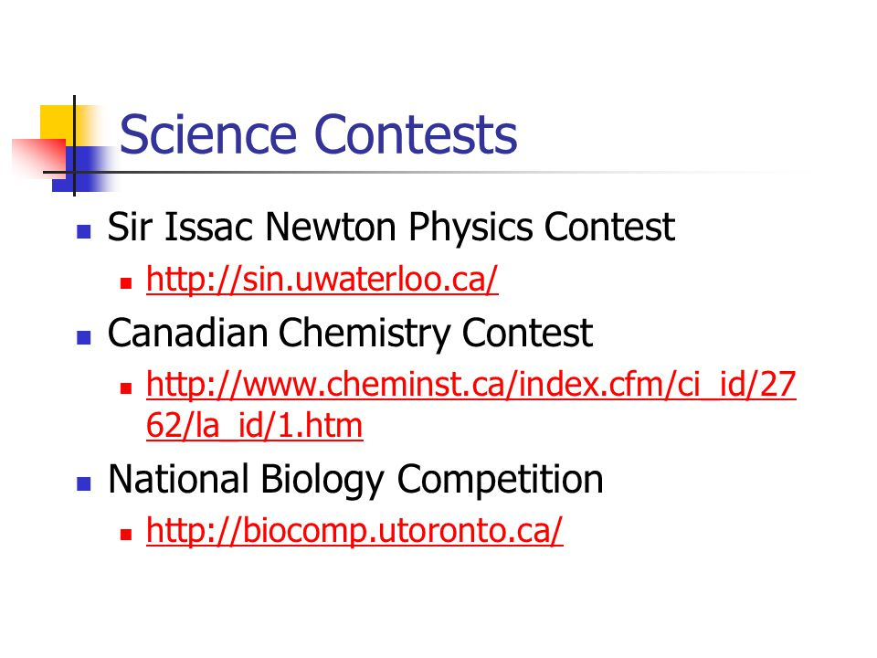 Science Contests Sir Issac Newton Physics Contest