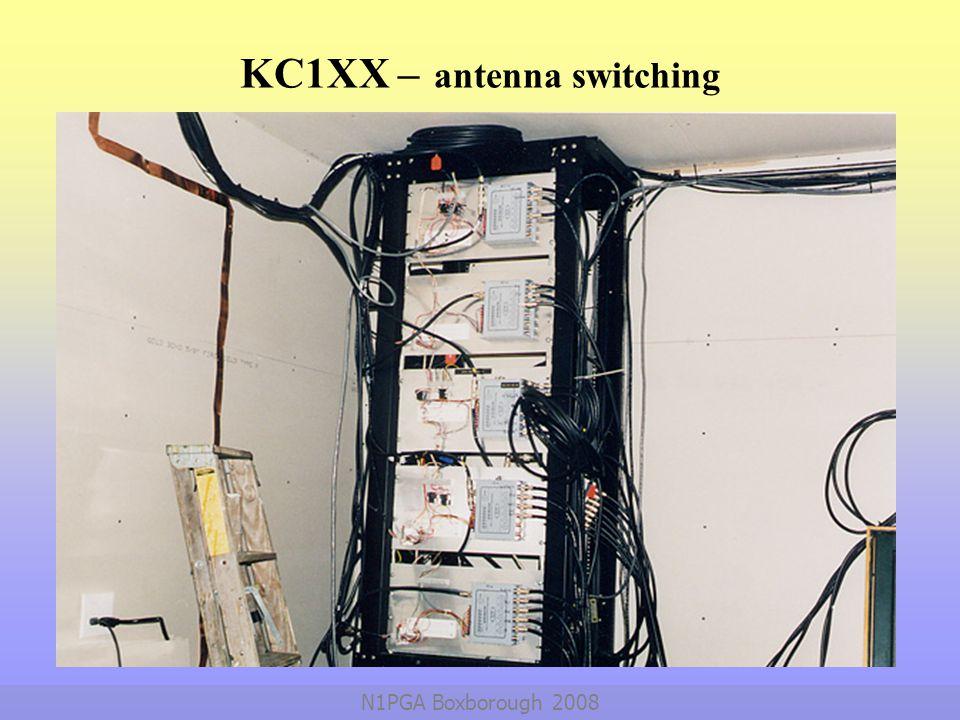 KC1XX – antenna switching
