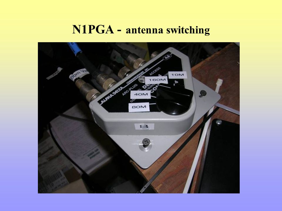 N1PGA - antenna switching
