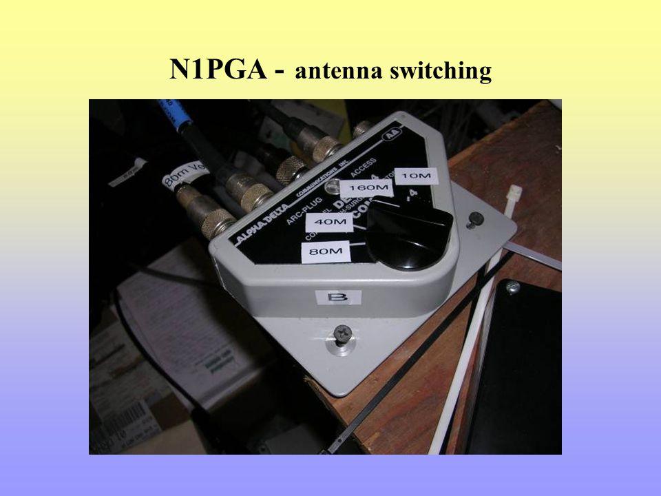 N1PGA - antenna switching