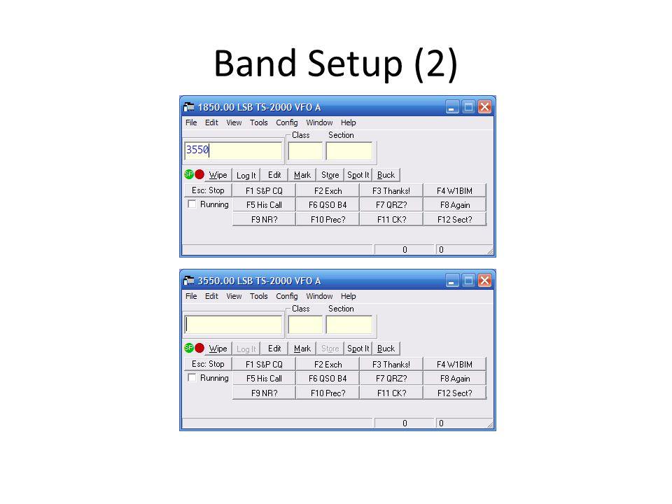 Band Setup (2)