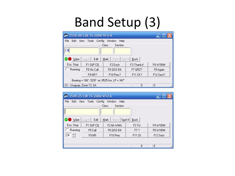 Band Setup (3)