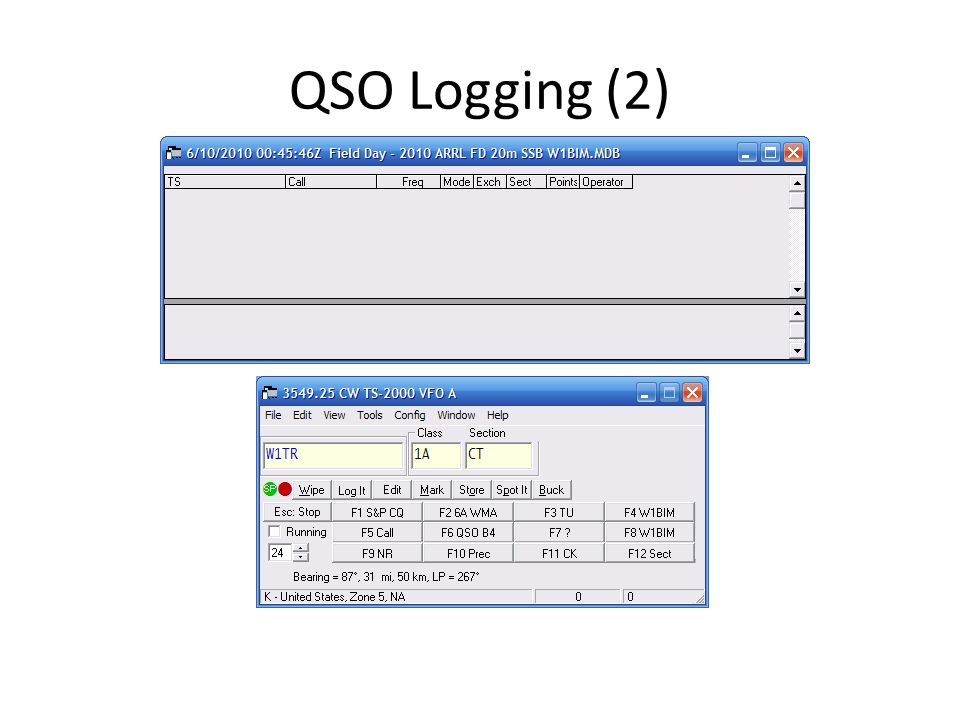 QSO Logging (2)