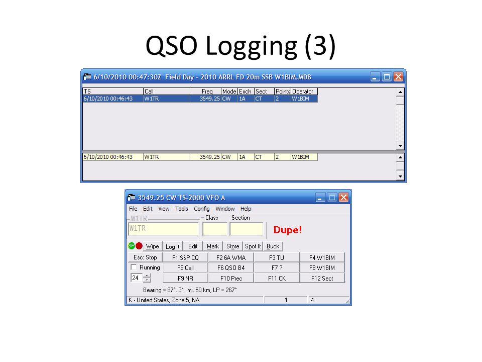 QSO Logging (3)