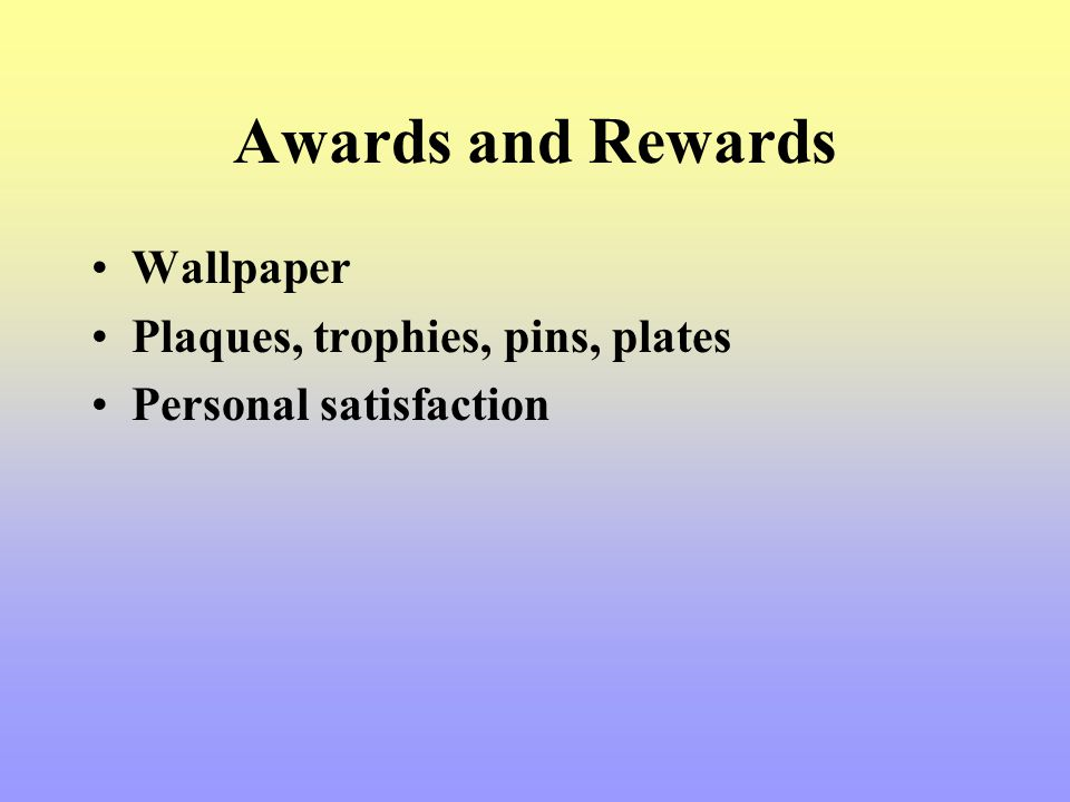 Awards and Rewards Wallpaper Plaques, trophies, pins, plates