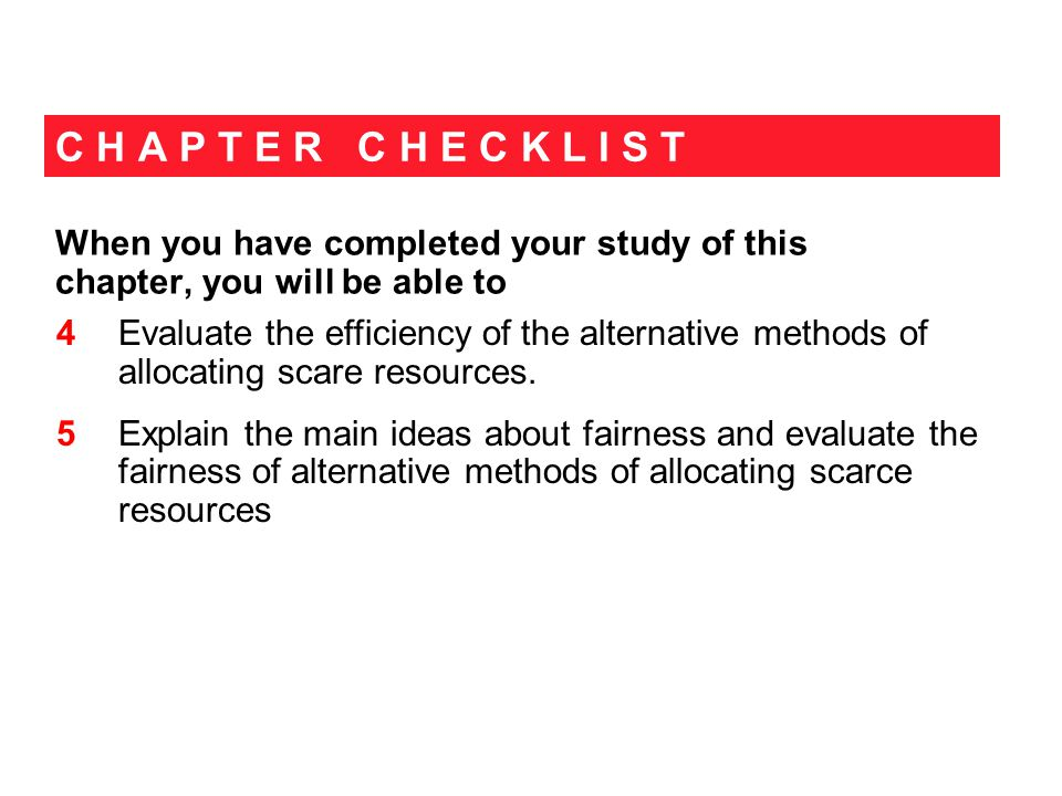 C H A P T E R C H E C K L I S T When you have completed your study of this chapter, you will be able to.