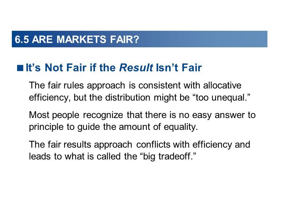 It's Not Fair if the Result Isn't Fair