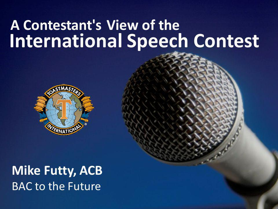 International Speech Contest