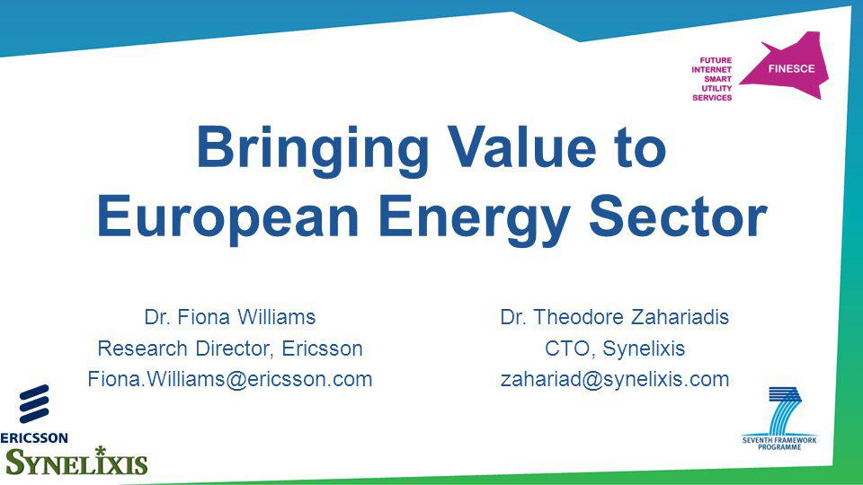 Bringing Value to European Energy Sector