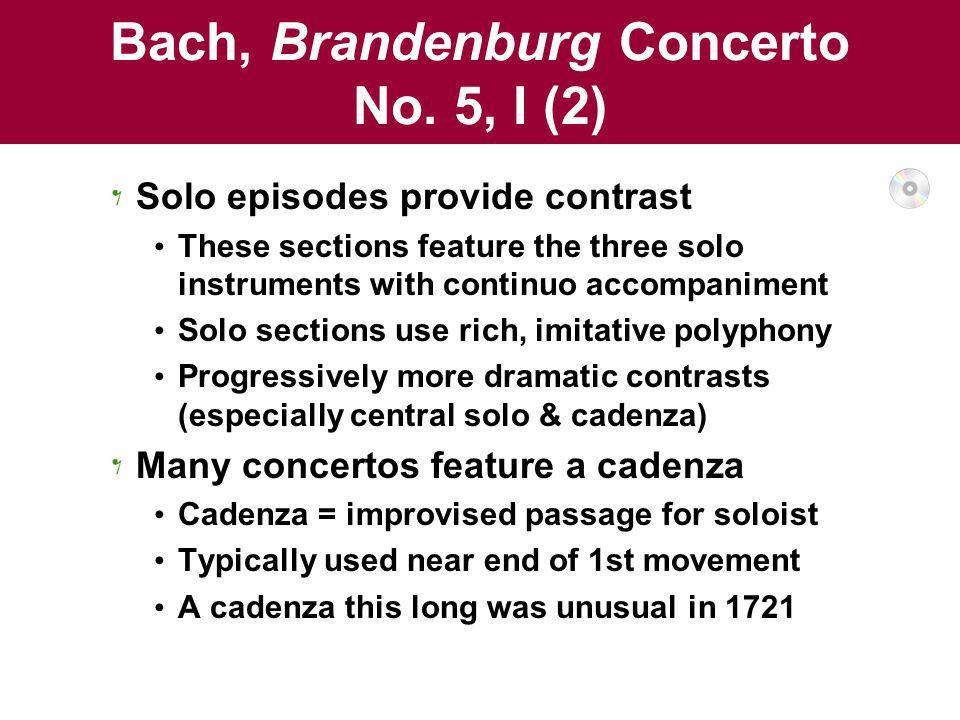 Bach, Brandenburg Concerto No. 5, I (2)