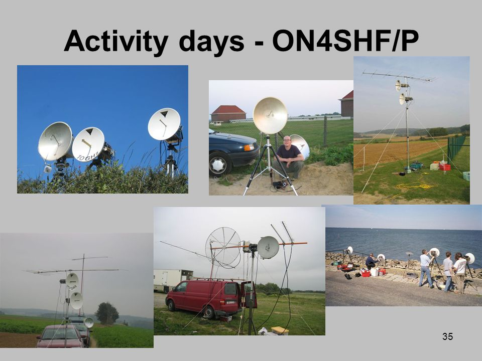 Activity days - ON4SHF/P