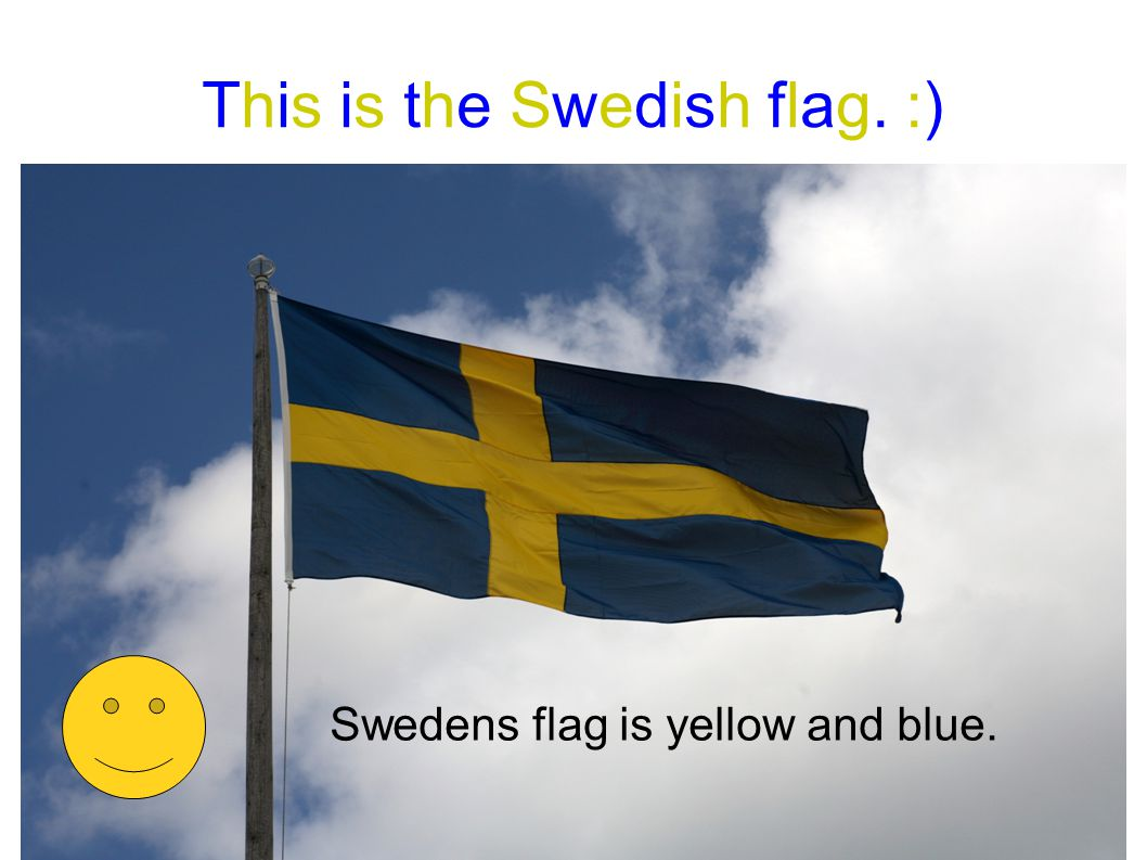 This is the Swedish flag. :)