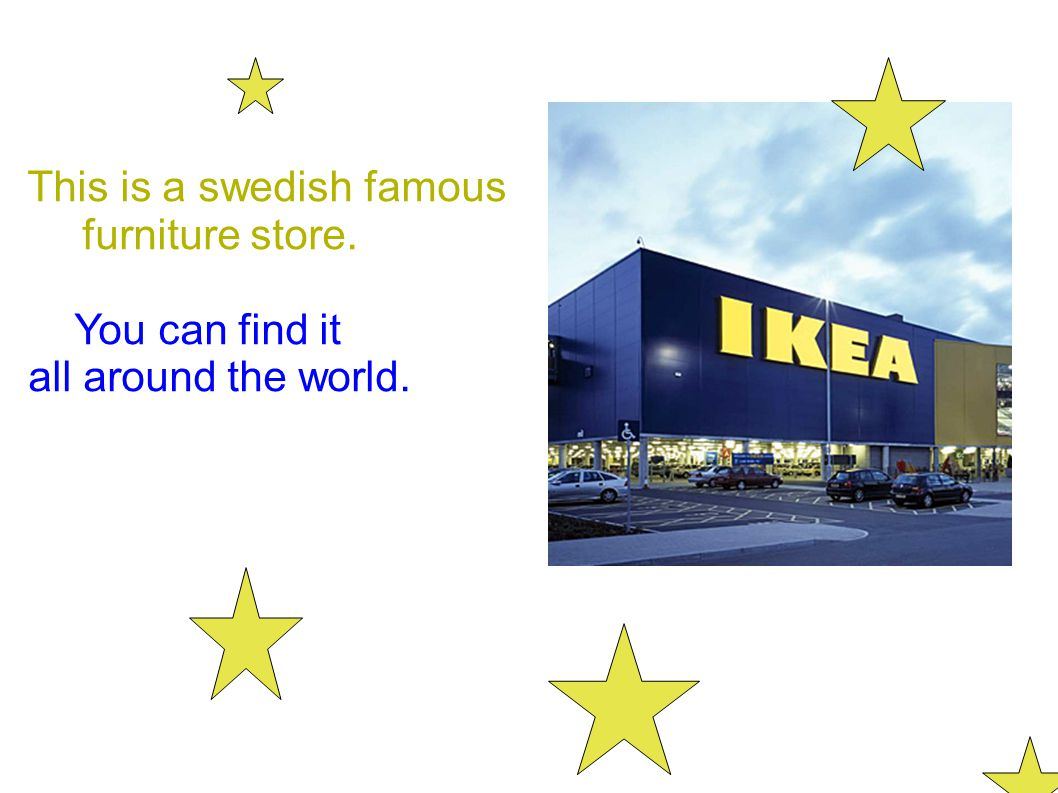 This is a swedish famous
