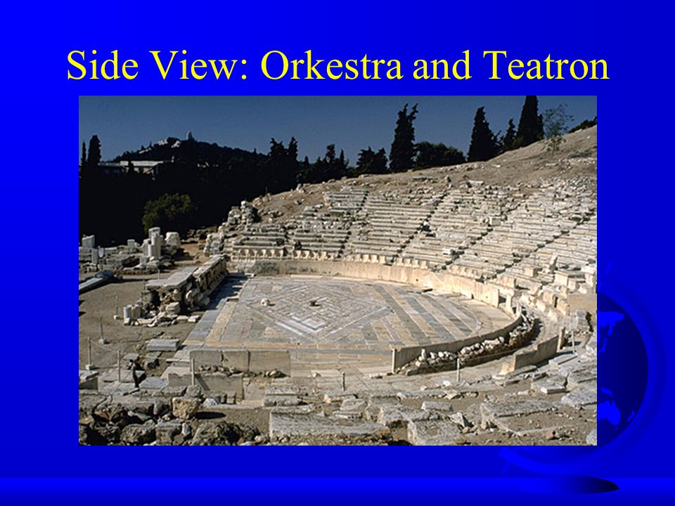 Side View: Orkestra and Teatron