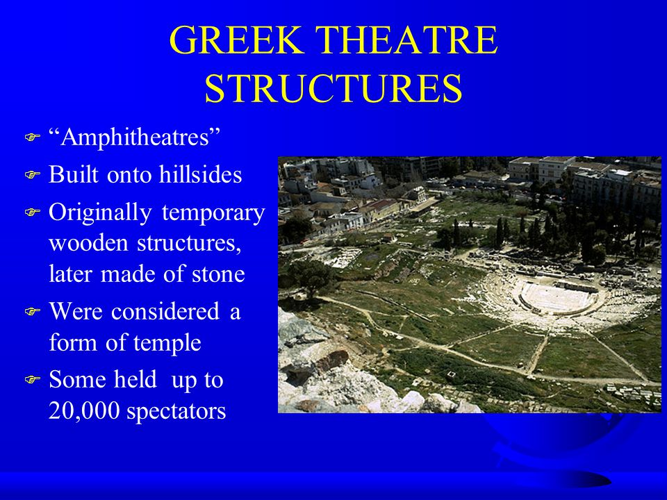 GREEK THEATRE STRUCTURES