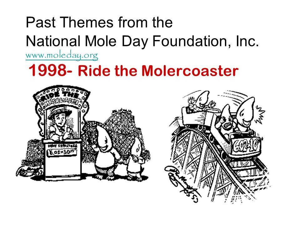 1998- Ride the Molercoaster