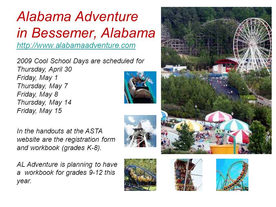 Alabama Adventure in Bessemer, Alabama http://www.alabamaadventure.com