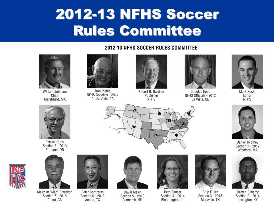 2012-13 NFHS Soccer Rules Committee
