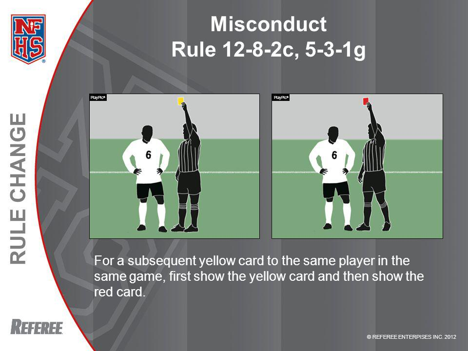 Misconduct Rule 12-8-2c, 5-3-1g
