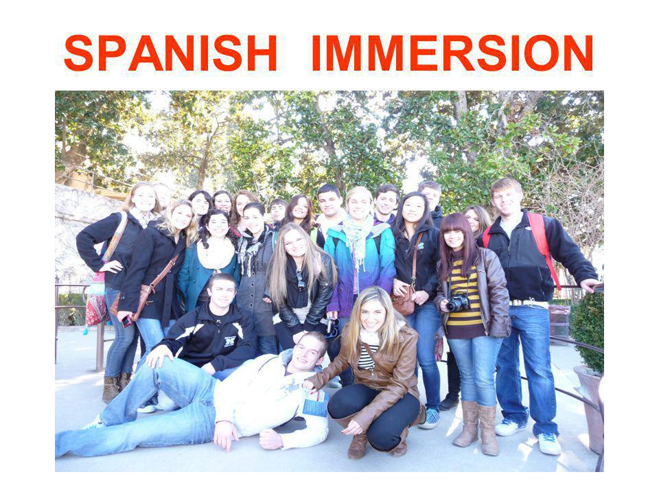 SPANISH IMMERSION