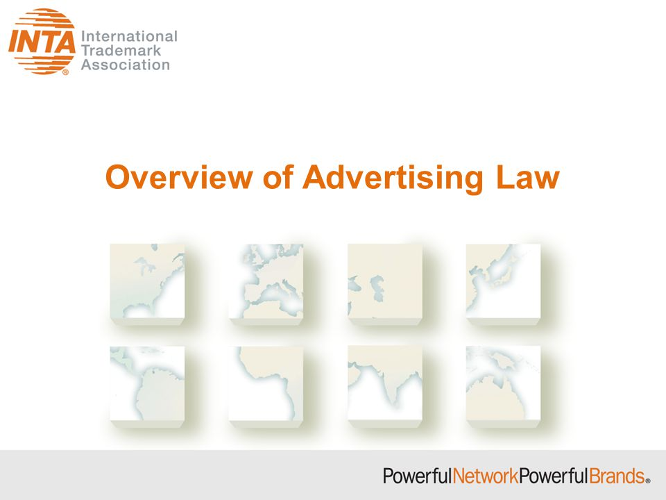 Overview of Advertising Law