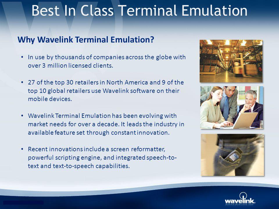 Best In Class Terminal Emulation