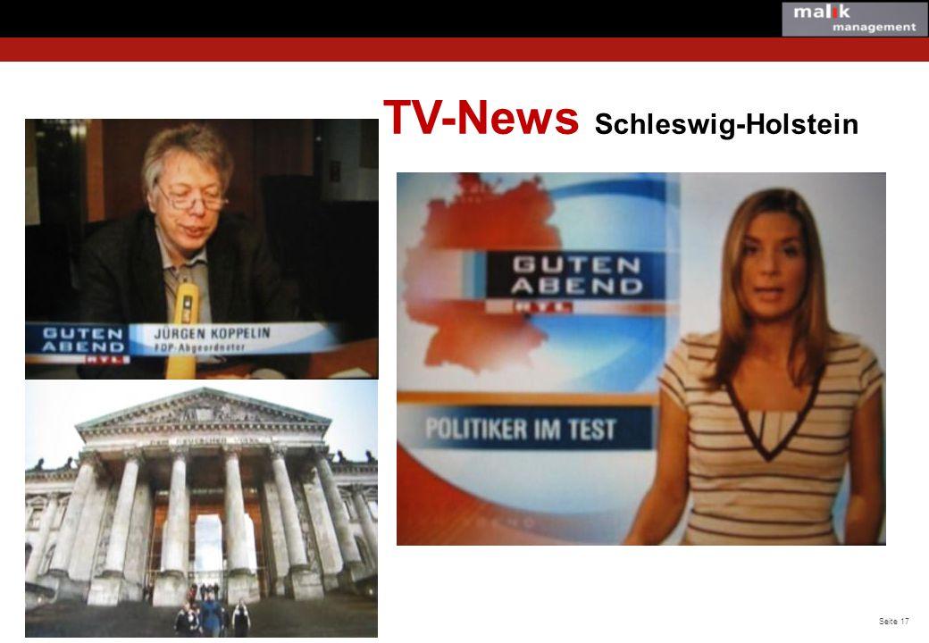 TV-News Schleswig-Holstein