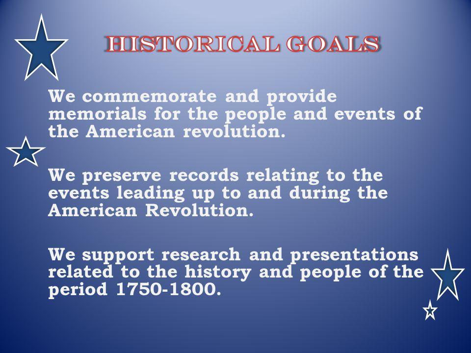 Historical Goals