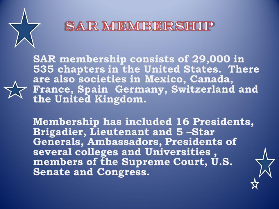 SAR Membership