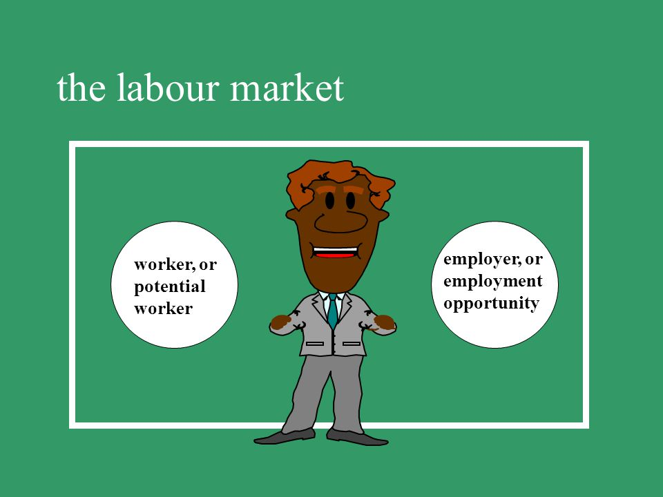 the labour market employer, or worker, or employment potential