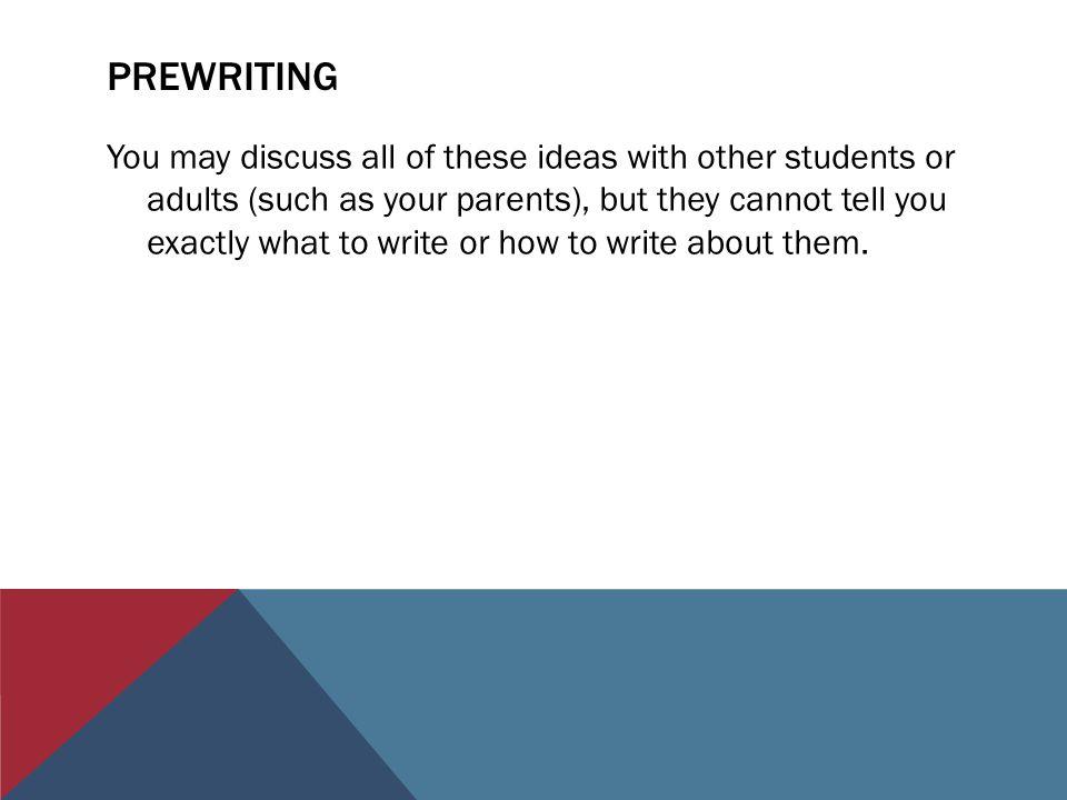 prewriting