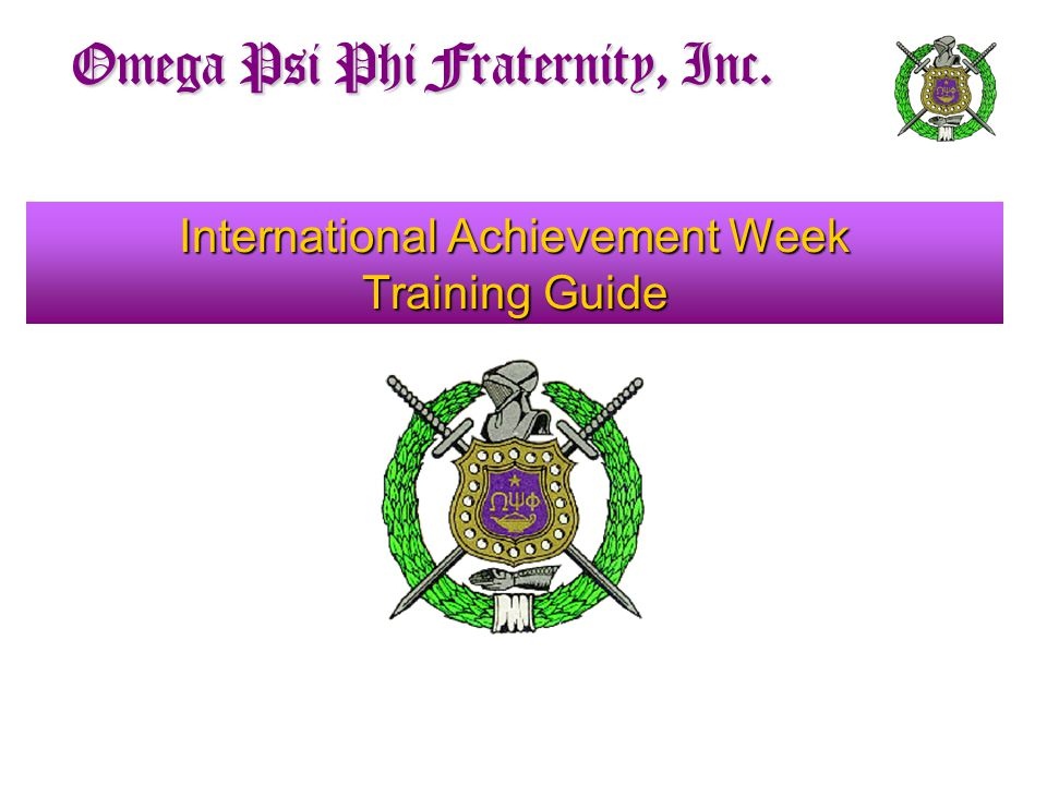 International Achievement Week Training Guide