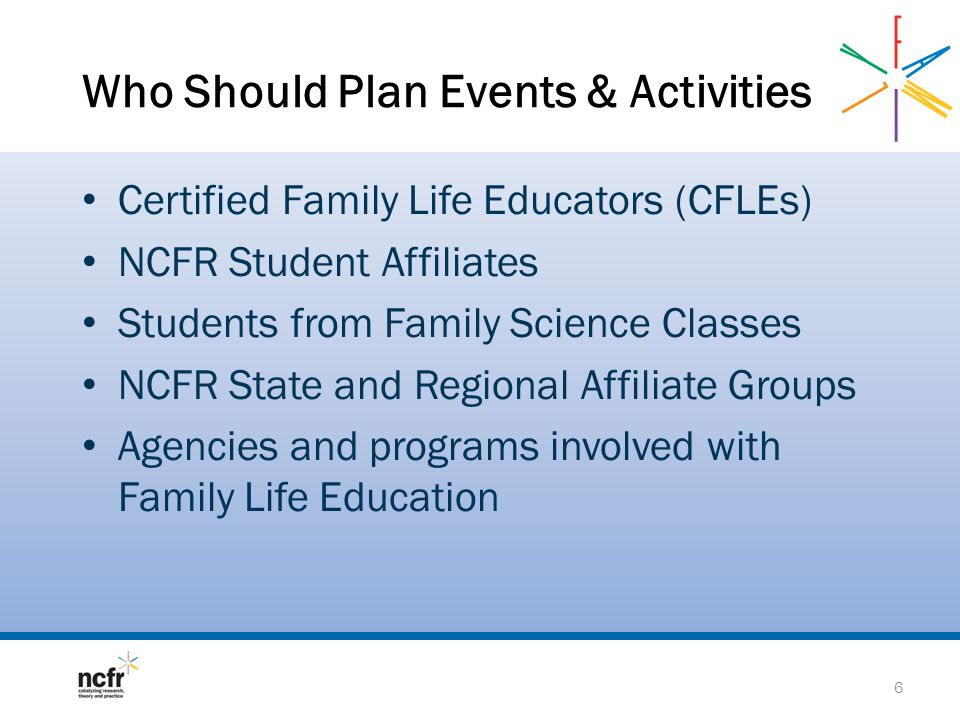 Who Should Plan Events & Activities