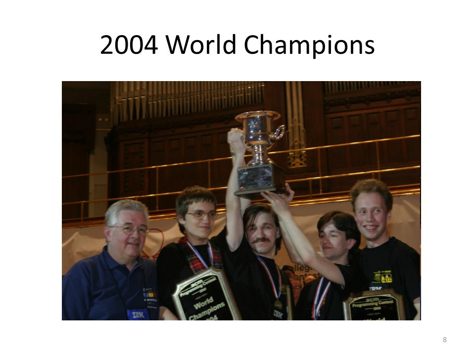 2004 World Champions