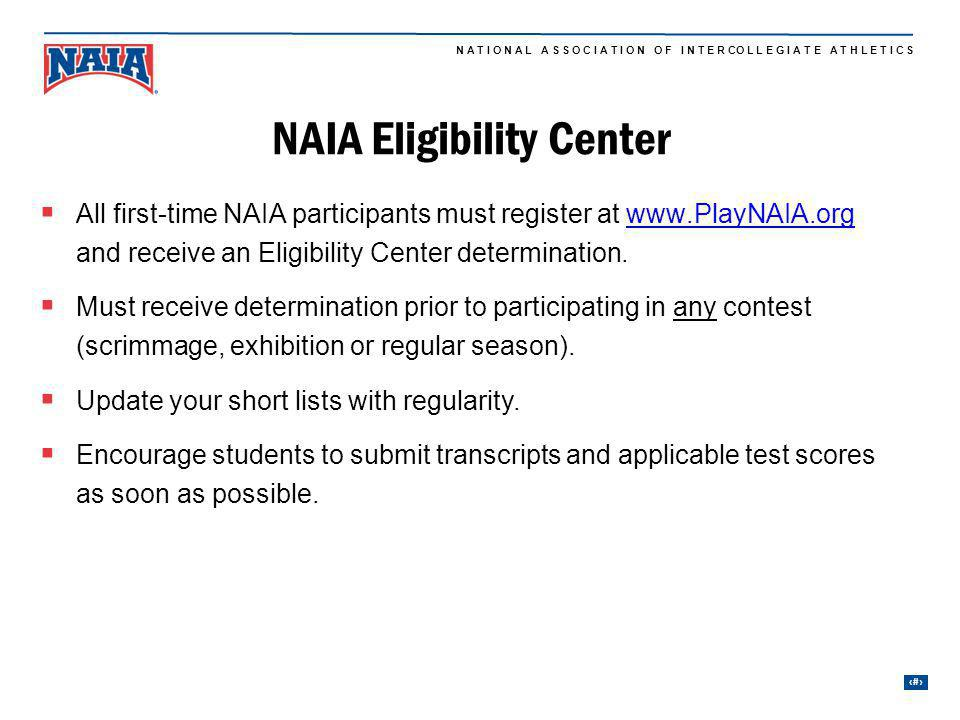 NAIA Eligibility Center