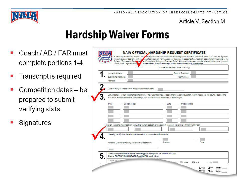 P P P Hardship Waiver Forms