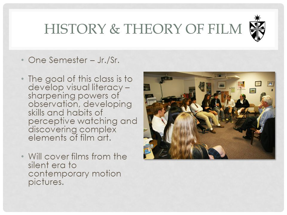 History & Theory of Film