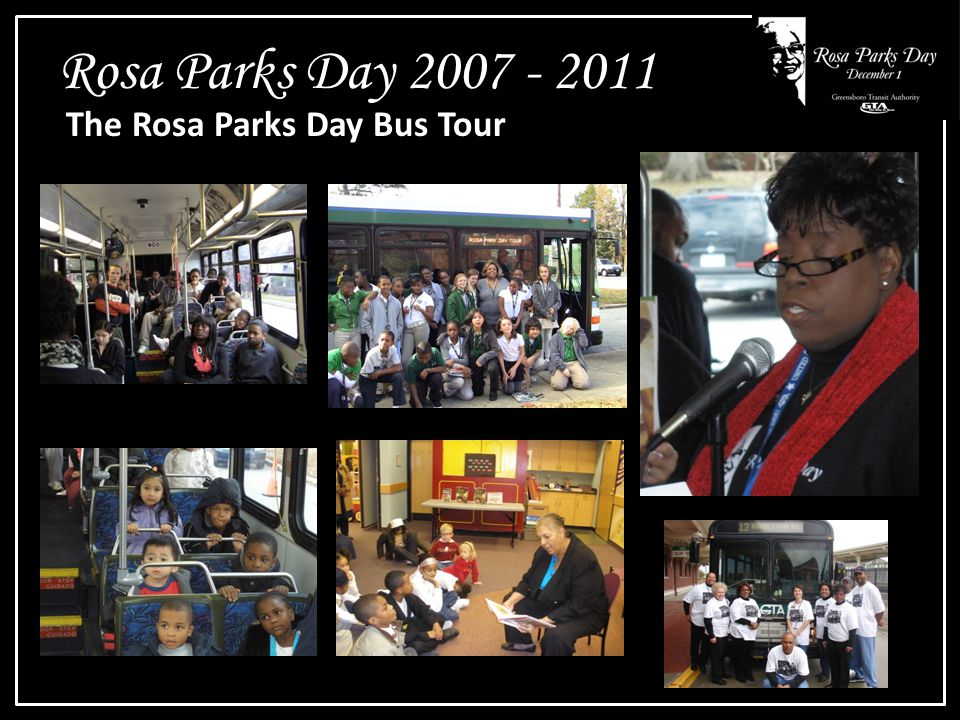 Rosa Parks Day 2007 - 2011 The Rosa Parks Day Bus Tour