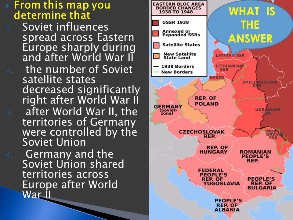 WHAT IS THE ANSWER From this map you determine that