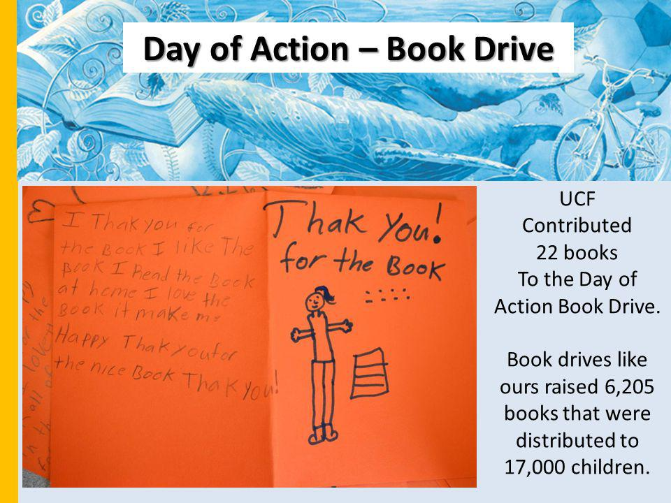 Day of Action – Book Drive