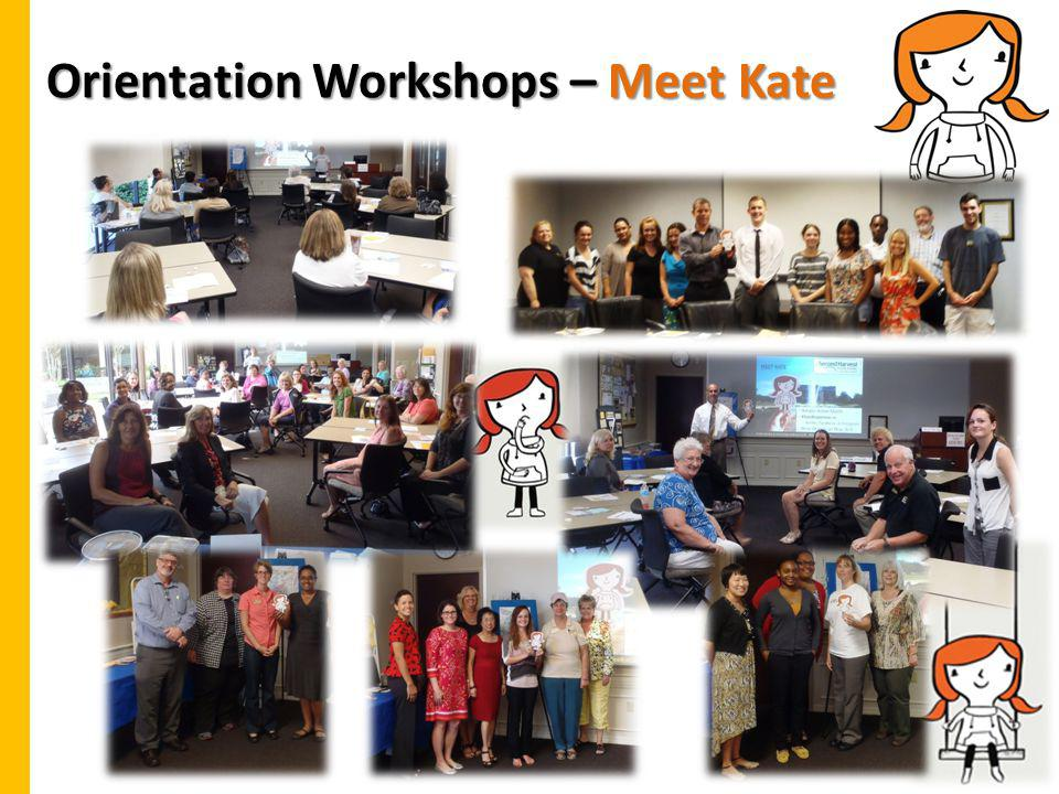Orientation Workshops – Meet Kate